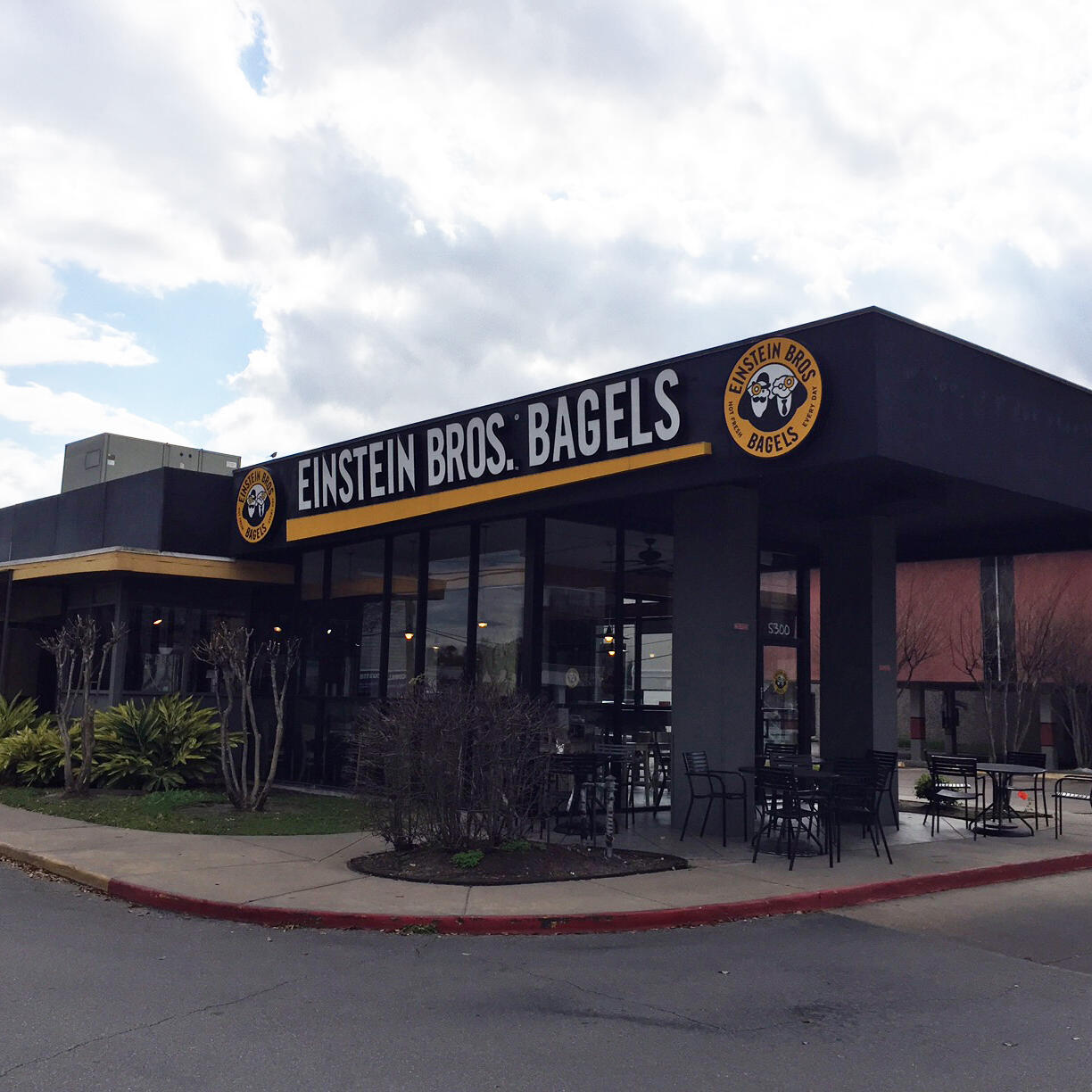 Einstein Bros. Bagels sold in Houston